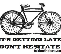 sticker - getting late don't hesitate