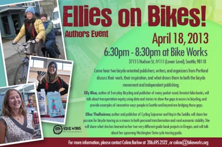 Ellies on Bikes poster