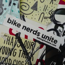 sticker bike nerds unite