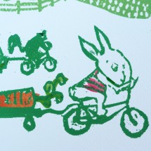 bike to market greeting card
