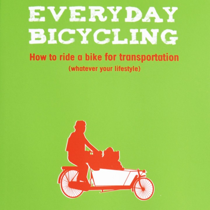 everyday bicycling book by elly blue