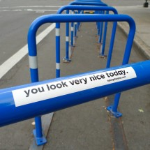 sticker - you look nice today